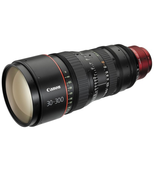 Canon CN-E130-300MM EF/PL Cinema Zoom Lens