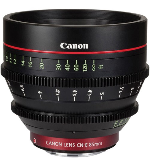 Canon CN 85mm T1.3 L F (EF Mount) EF Cinema Prime