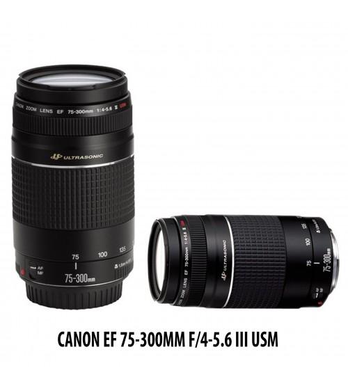 Canon EF 75 300mm F 4 56 III USM