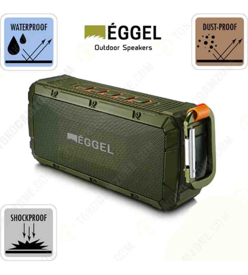 Eggel Terra Outdoor Waterproof Portable Bluetooth Speaker