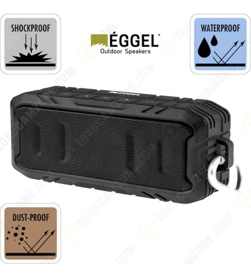 Eggel Terra 2 Outdoor Waterproof Portable Bluetooth Speaker