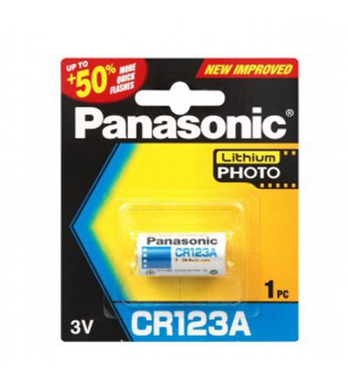 Battery Panasonic CR123A