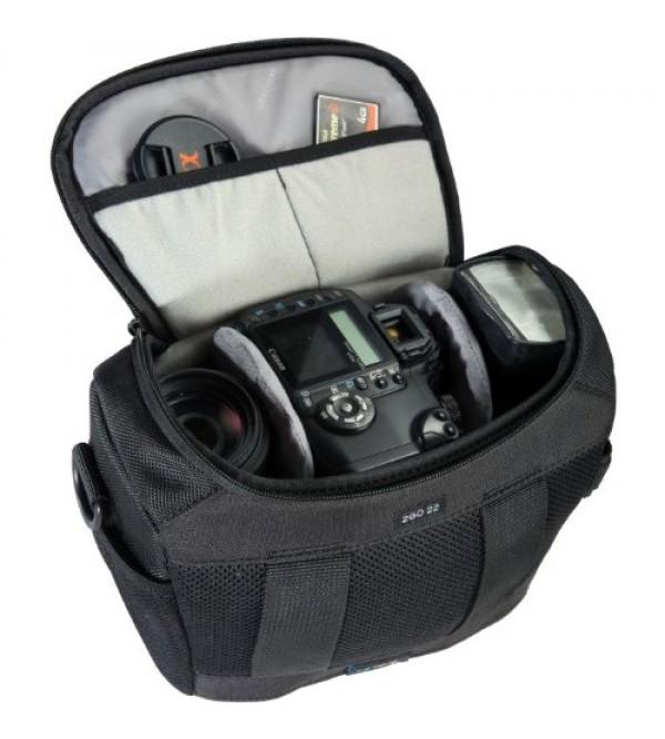 Сумка vanguard 2go22 для фотоаппарата, черный, 18х11х22см