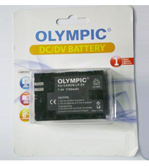 Olympic Battery For Canon LP-E5 (1250mAh)