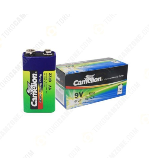 Camelion Extra Heavy Duty Battery 6F22 9V