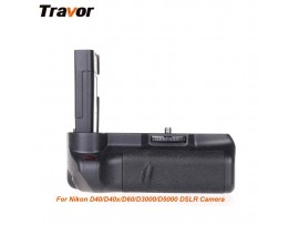 Travor Battery Grip for Nikon D40/ D40X/ D60/ D3000/ D5000