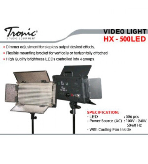 Tronic HX-500 LED Video Light