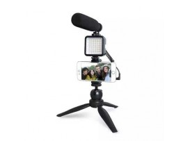 maono AU-CM11PL Microphone Recording with Led Light Vlogging