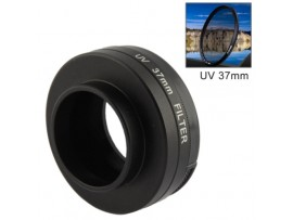 GP120 UV Filter Lens 37mm with Cap for Gopro Hero3+ / Hero3 Black