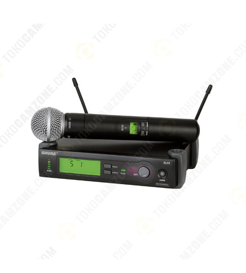Shure SLX24/Beta58 Series Wireless Microphone System
