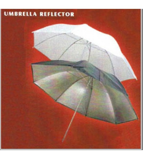 Umbrella Black/Silver (Double)