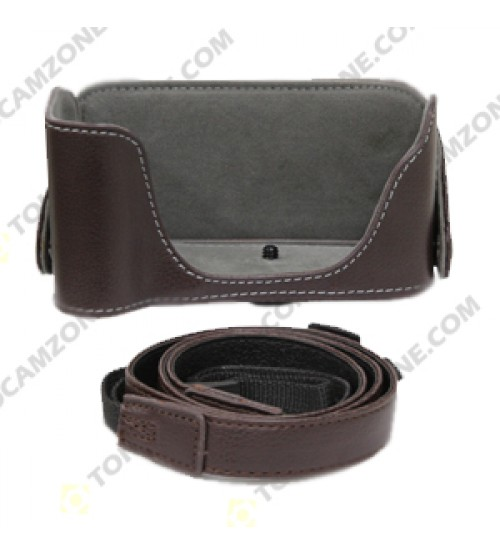 Leather Case With Strap