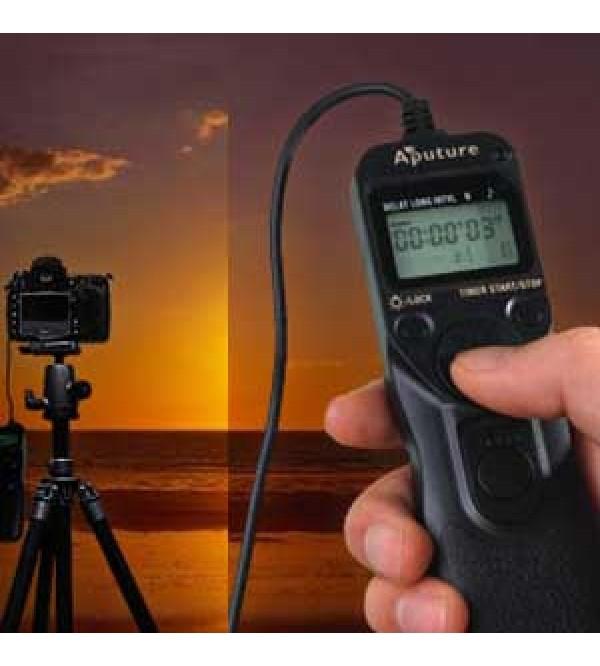 Aputure Digital LCD Timer Remote AP-TR1C For CANON EOS 1000D(Rebel XS) /  450D(Rebel Xsi) / 350D(Rebel XT) / 300D (Digital Rebel) / 30 / 33 / 50