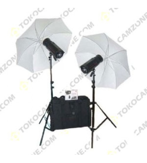 Paket Studio Jinbei EC-V300 With Umbrella