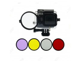 GP200 58mm UV CPL ND Filter Kit Set For GoPro Hero5 Black Waterproof Housing Case