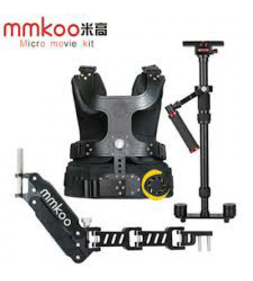 mmkoo Vest Stabilizer System for DSLR / DV / HDV Include Vest + Arm