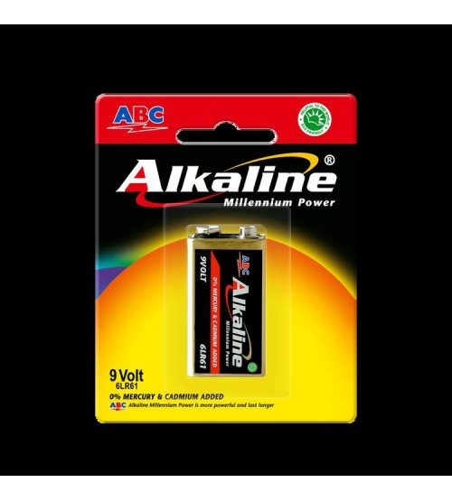 ABC Power Alkaline 9v 6LR61P1B/97