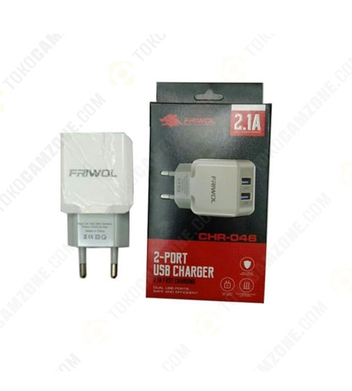 Friwol Charger 2.1A CHR-046