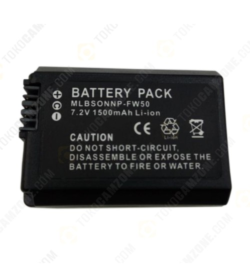 Malibah Battery NP-FW50 For Sony