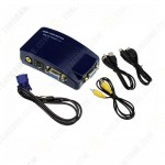 PC To TV Converter BOX VGA To RCA S Video Adapter VGA to AV VTR01/HW-1216