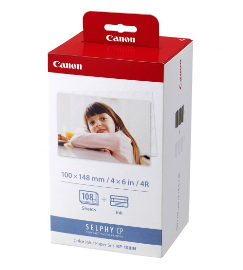 Canon Easy Photo Pack KP-108IN 4R-36 (Photo Paper for CP-series)