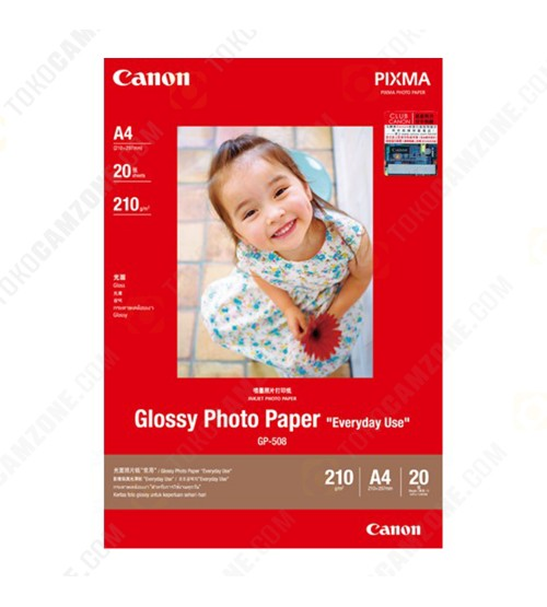 Canon Glossy Photo GP-508/4R A4 (20 Sheets)
