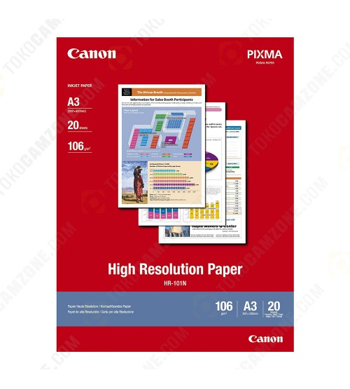 Canon High Resolution HR-101/A3 (20 Sheets)
