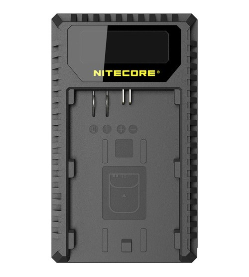 NITECORE UCN1 USB Travel Charger for Canon LP-E6, LP-E6N, and LP-E8 Lithium-Ion Batteries