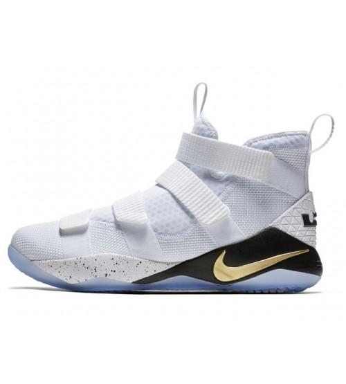 Nike Lebron Soldier XI EP White - Size 9.5 US
