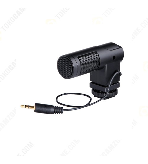 Boya BY-V01 Compact Stereo Video Microphone