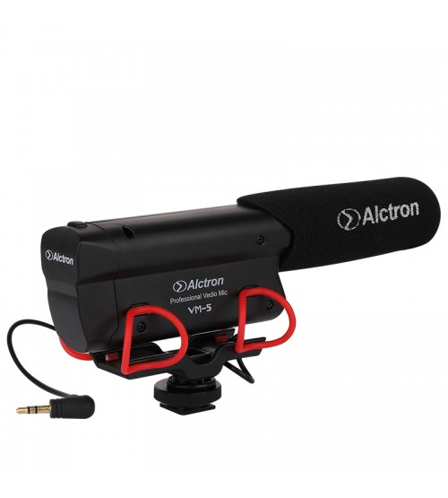 Alctron VM-5 Video Camera Microphone Professional for Interview Recording