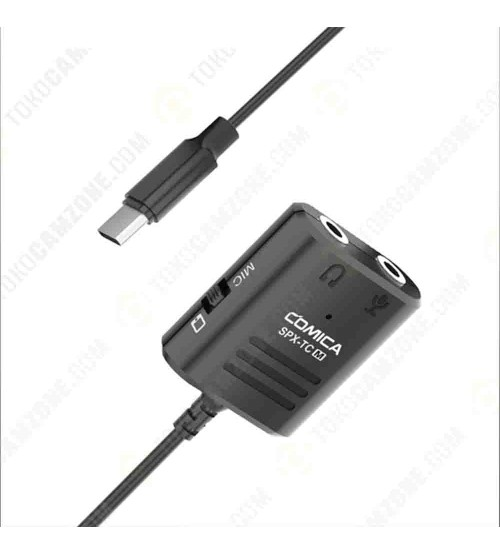 Comica CVM-SPX-TC (M) 3.5mm to USB TYPE-C Audio Cable Adapter