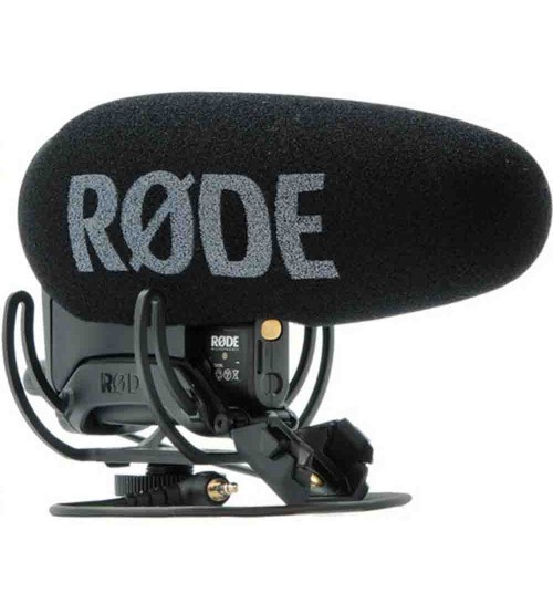 Rode VideoMic Pro+ Compact Directional On Camera Microphone