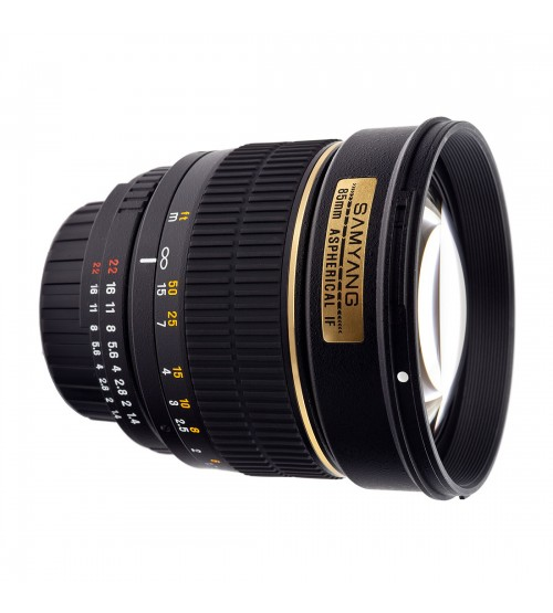 Samyang For Canon 85mm F/1.4 Aspherical IF MC
