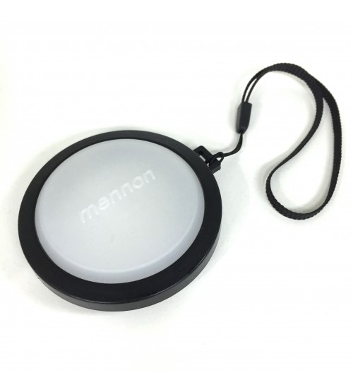 Mennon 62mm White Balance Lens Cap for ANY DLSR / DVcam