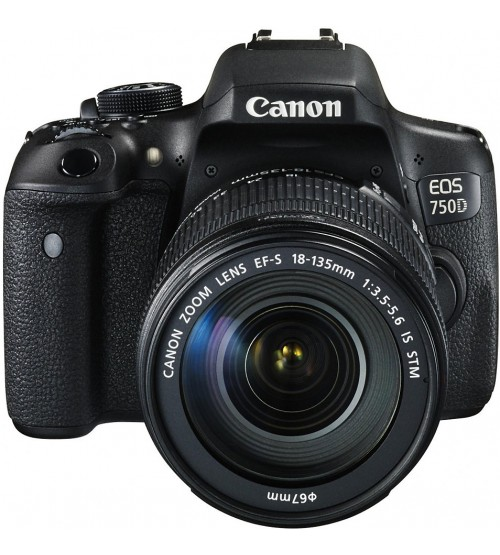 Canon EOS 750D Kit EF-S 18-135mm f/3.5-5.6 IS STM WiFi