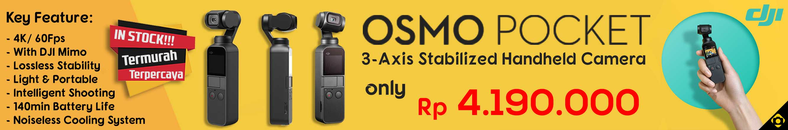 DJI Osmo Pocket // 10 Feb 2020