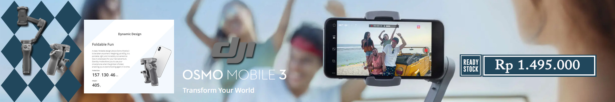 DJI Osmo Mobile 3 Standard // Upload 16 Nov 2019