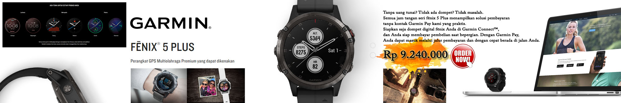 Garmin Fenix 5 Plus // Upload 16 Nov 2019