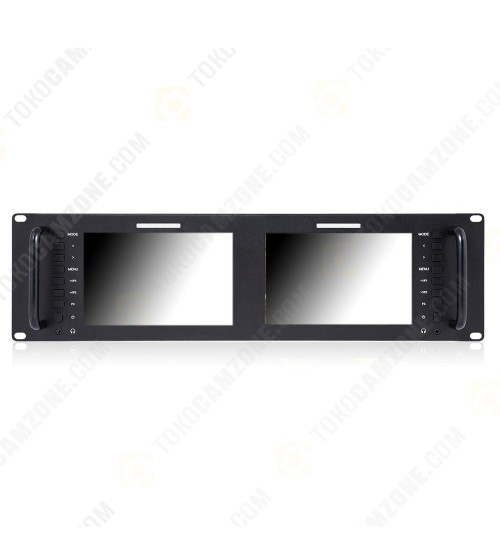 Feelworld D71 Broadcast LCD Rack Mount Monitor with 3G-SDI HDMI AV