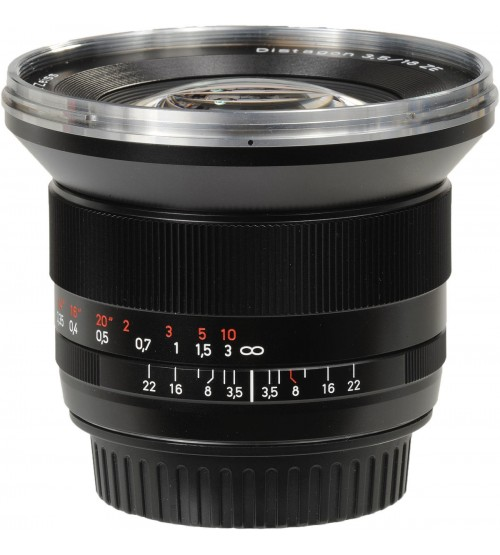 Carl Zeiss For Canon 18mm f/3.5 Distagon T* ZE