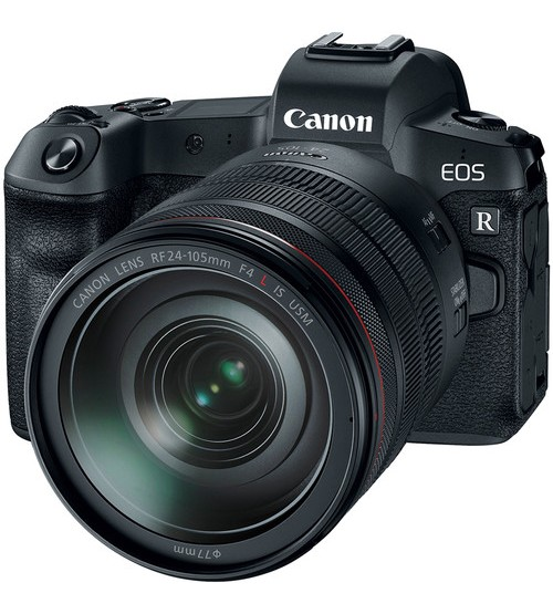 Canon EOS R Kit RF 24-105mm Lens (Promo Cashback Rp 6.000.000 + Free Mount Adapter + Canon CS100)