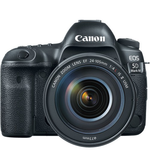 Canon EOS 5D Mark IV Kit 24-105mm f/4.0L IS II USM (Promo Cashback Rp 2.500.000)