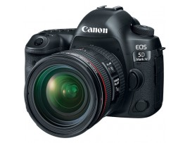 Canon EOS 5D Mark IV kit 24-70mm f/4.0L IS USM (Promo Cashback Rp 3.000.000 Periode s/d 31 Mei 2020)