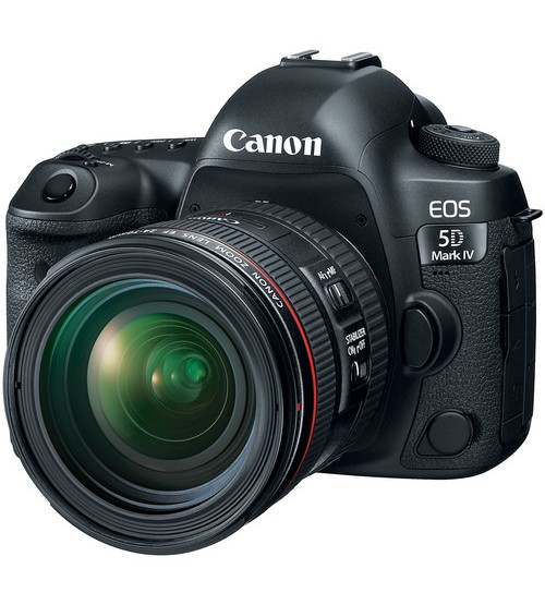 Canon EOS 5D Mark IV kit 24-70mm f/4.0L IS USM (Promo Cashback Rp 2.500.000)
