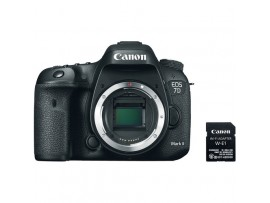Canon EOS 7D Mark II Body Only with WIFI Adapter W-E1