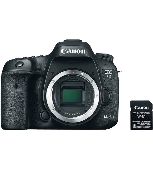Canon EOS 7D Mark II Body Only with WIFI Adapter W-E1 (Promo Cashback Rp 1.000.000)