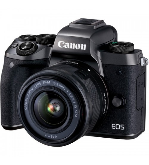 Canon EOS M5 Kit EF-M 15-45mm (Extra Battery LP-E17)