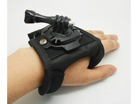 GP231 / GP127L 360 degree rotating glove mount For GoPro