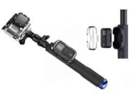 GP164 Monopod Selfie Stick with Remote Case For GoPro